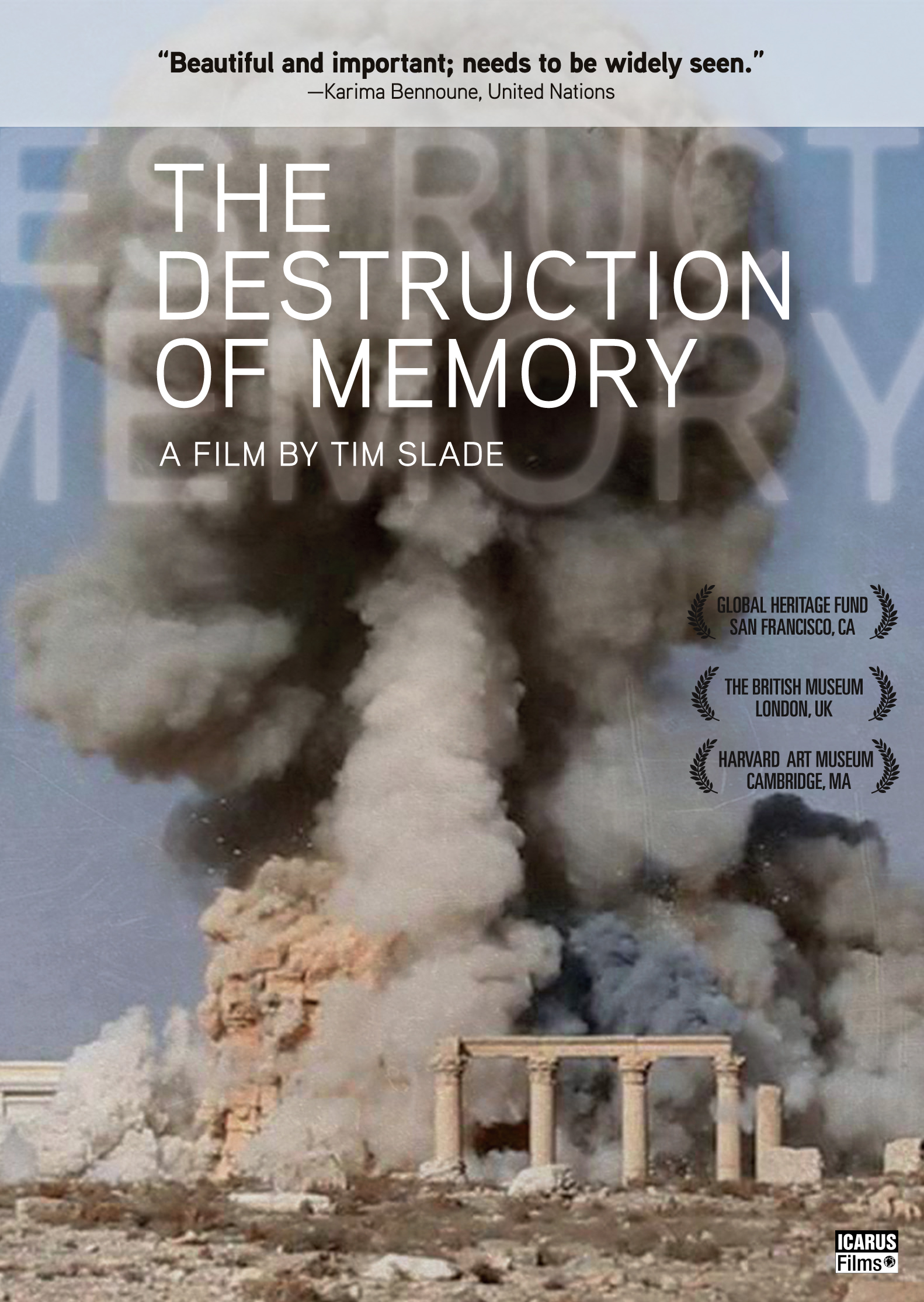 The Destruction of Memory
