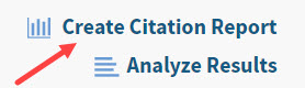 Create Citation Report