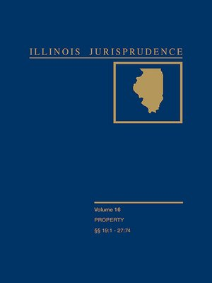 Cover of Illinois Jurisprudence