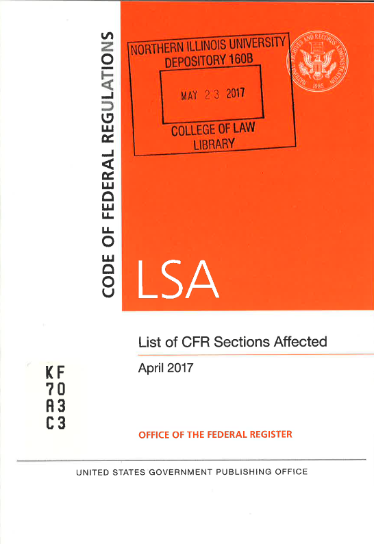 Cover of LSA issue