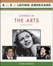 Cover Art of Latinos in the Arts