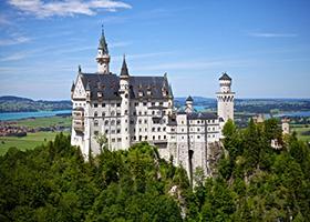 Neschwanstein Castle in Bavaria