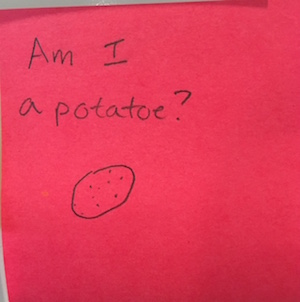 Am I a potatoe? 0