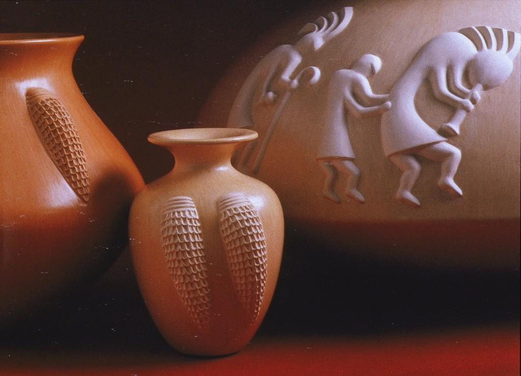 Sculptured Pottery