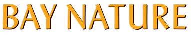 Bay Nature magazine masthead
