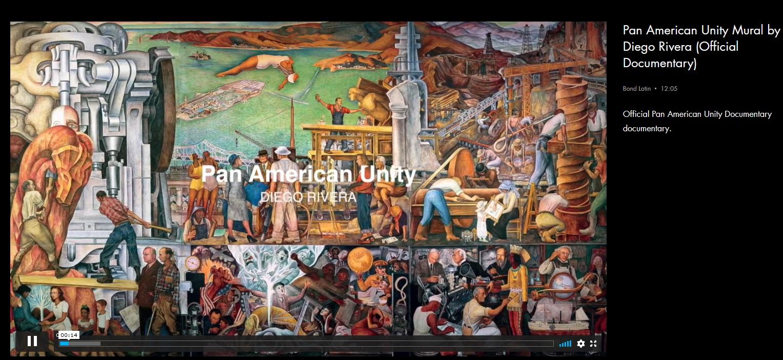 image of Diego Rivera's Pan American Unity Mural
