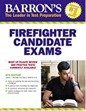 """cover image of book """"Firefighter Candidate exams"""""""