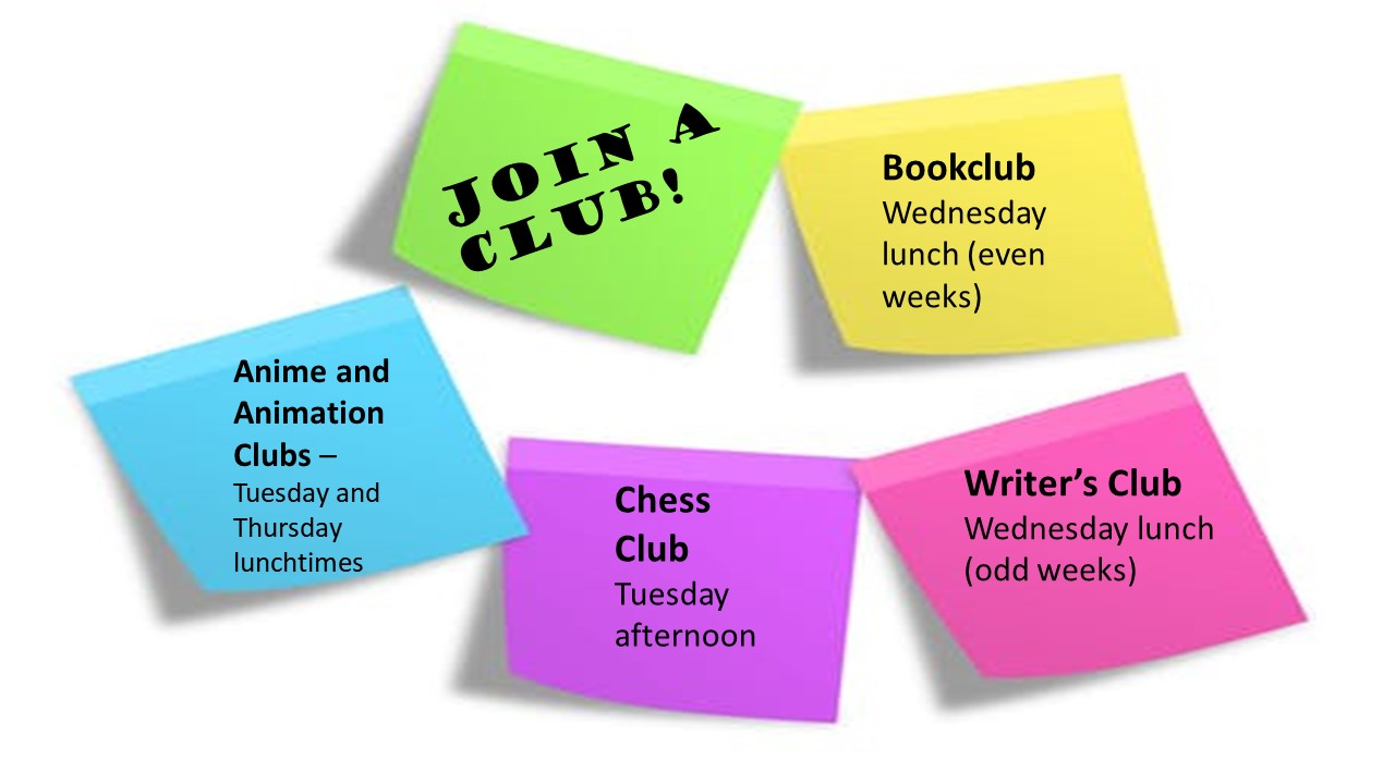 Join a library club!