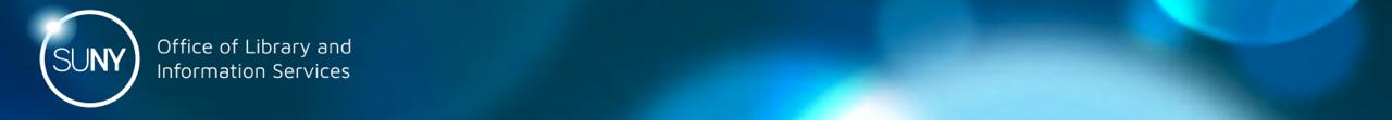 SUNY OLIS logo