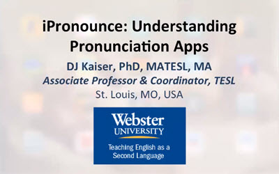 iPronounce: Understanding Pronunciation Apps
