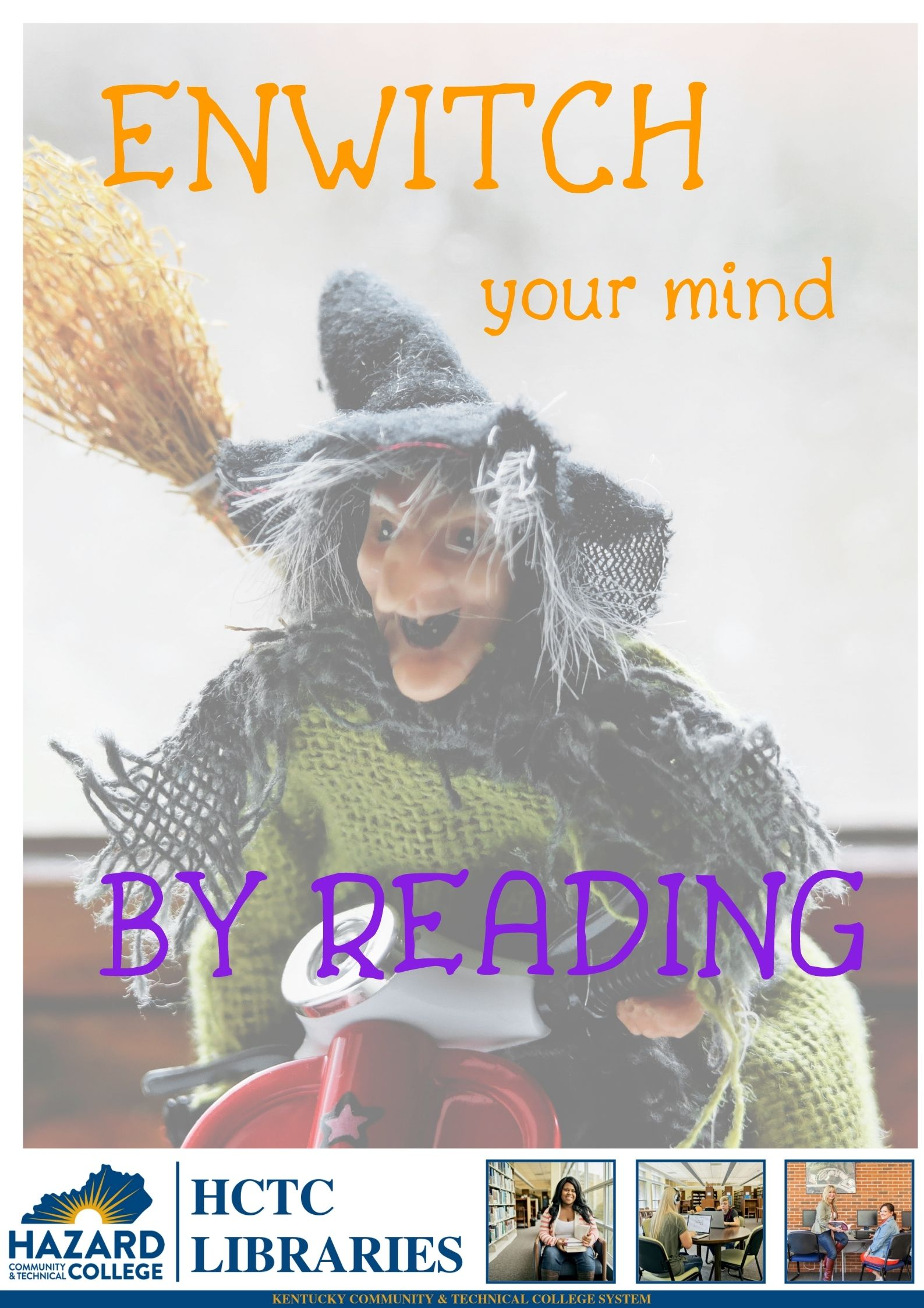 En-witch Your Mind by Reading!