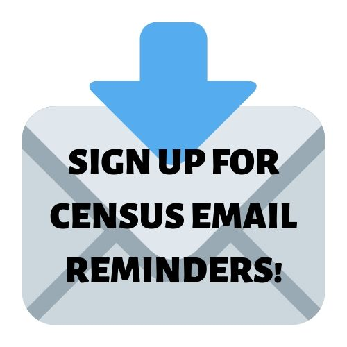 Sign up for Census email reminders!