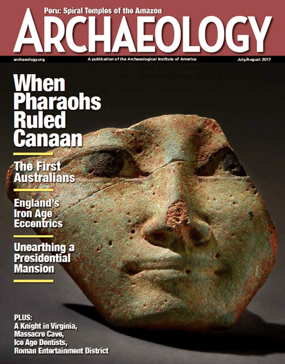Archaeology : a magazine dealing with the antiquity of the world.