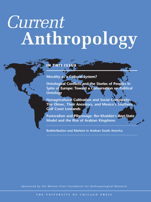 Current Anthropology Journal Cover