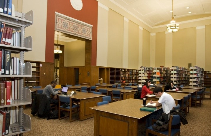 image of Reading Room of current CCM Library
