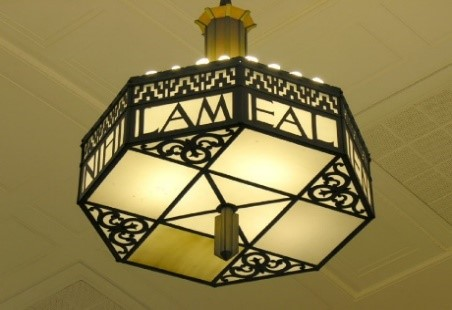 image of CCM Library chandelier