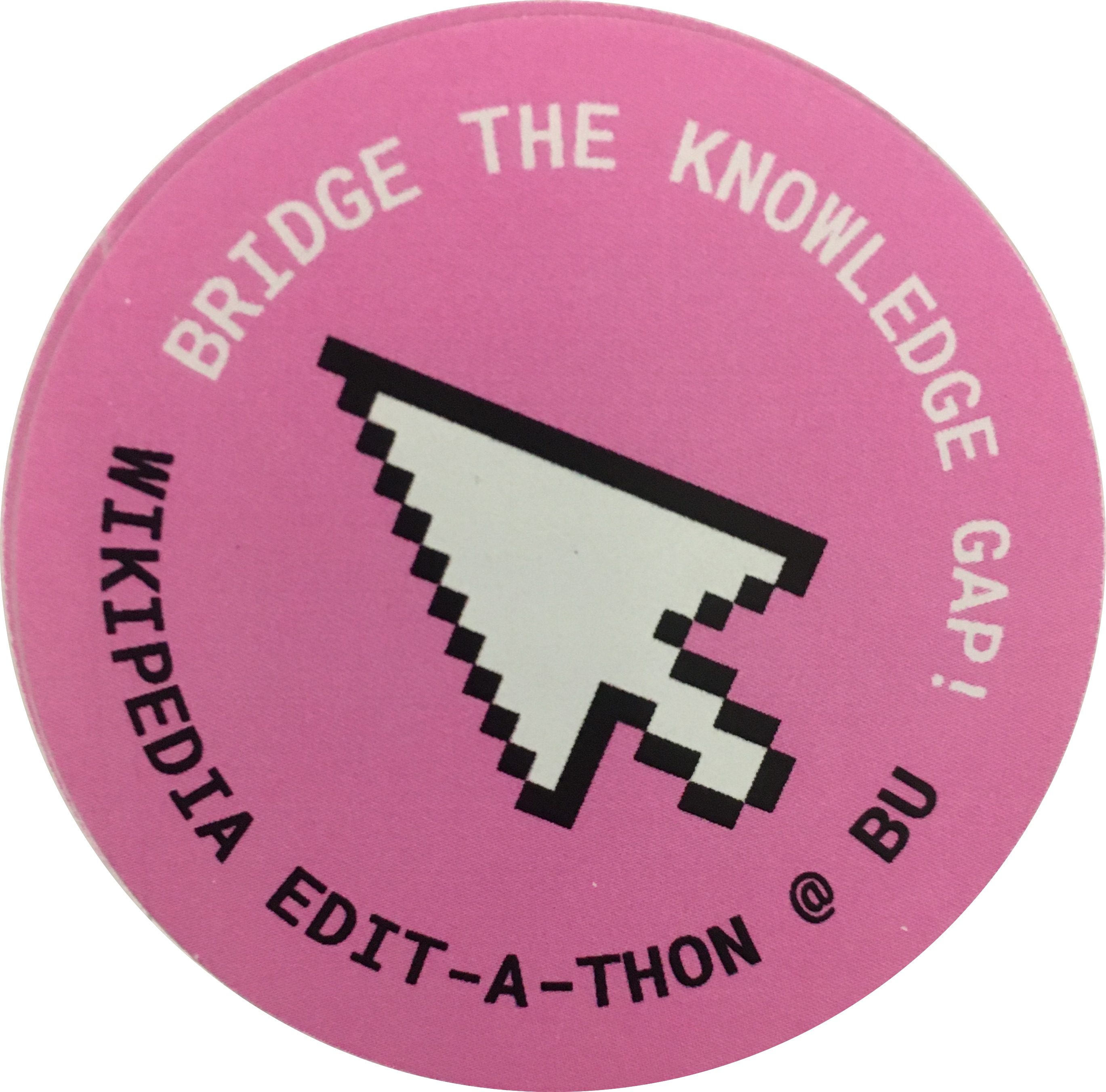 Wikipedia Bridging the Gap Sticker