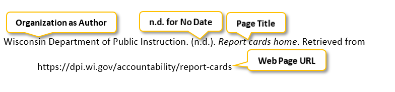 Wisconsin Department of Public Instruction period (n period d period) period Report cards home period Retrieved from https colon //dpi dot wi dot gov/accountability/report-cards