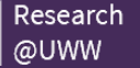 Research at UWW logo and link