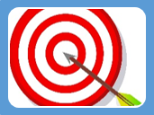 image of an arrow hitting a target