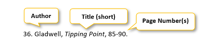 36 period Gladwell comma Tipping Point comma 85-90 period