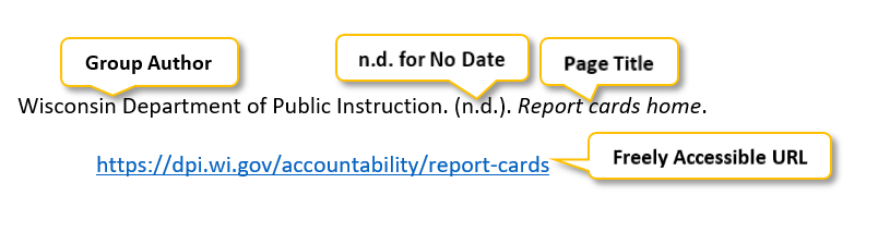 "Wisconsin Department of Public Instruction period parenthesis n period d period parenthesis period Report cards home period  <a href= ""https://dpi.wi.gov/accountability/report-cards"" </a>"