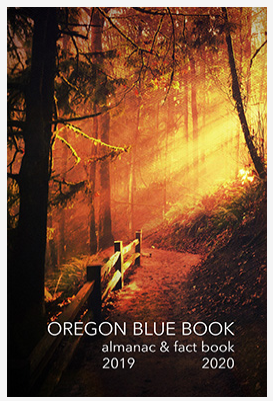 Oregon Blue Book Cover Page