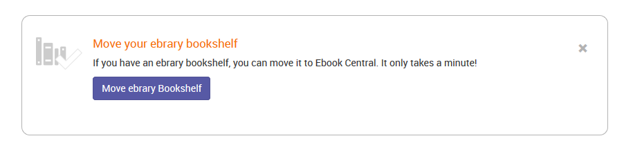 "screenshot of ""move your ebrary bookshelf"" option"