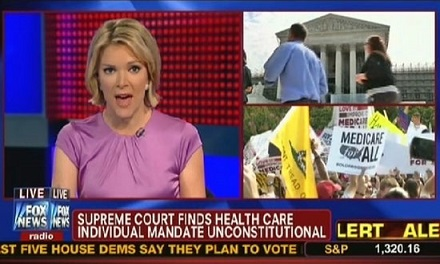 Television Still from Fox News