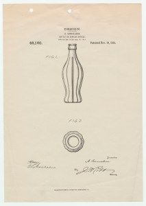 Design Patent for a bottle
