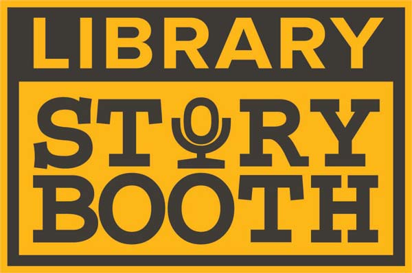 Library Story Booth Logo
