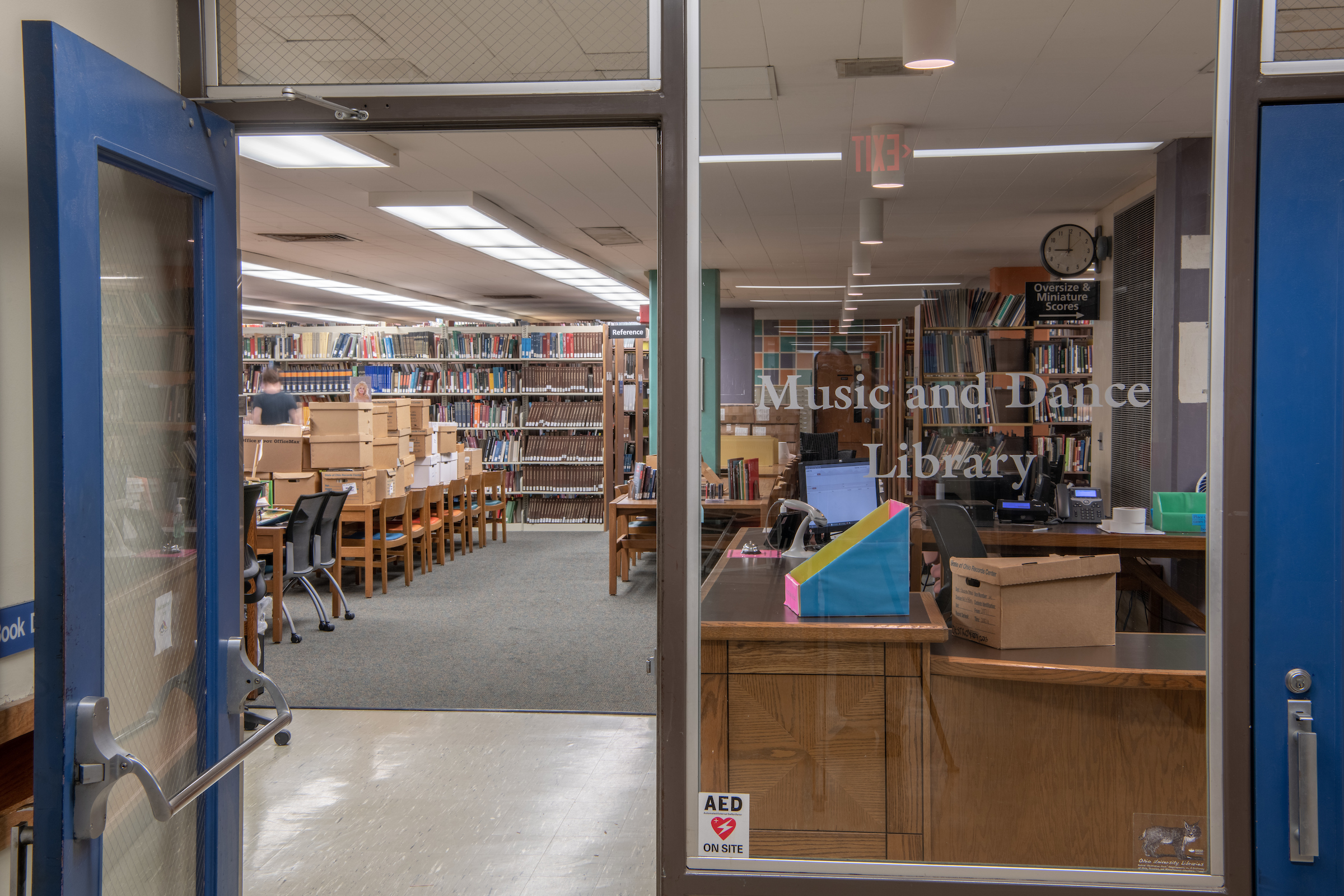 Music and Dance Library