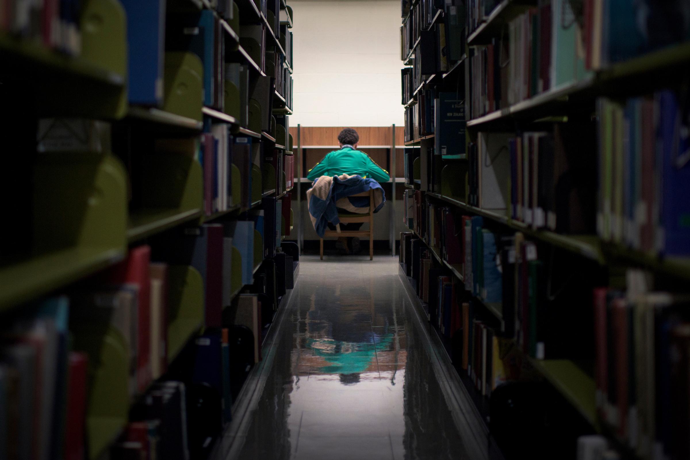 Stack Studies, Alden Library