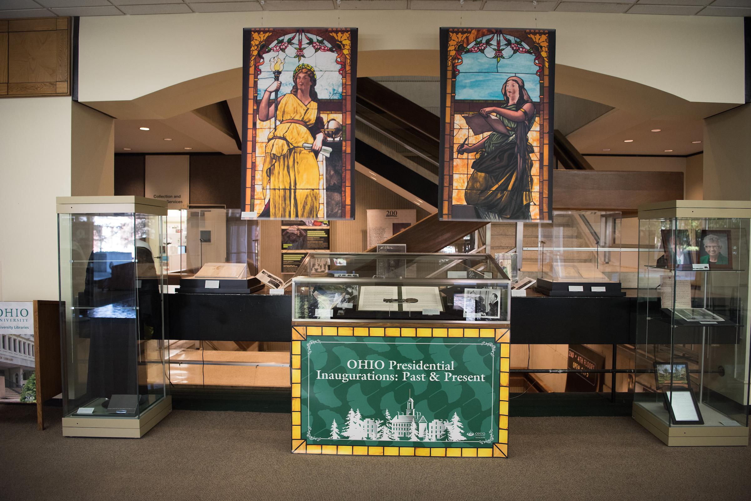 Fourth Floor Exhibit, Alden Library