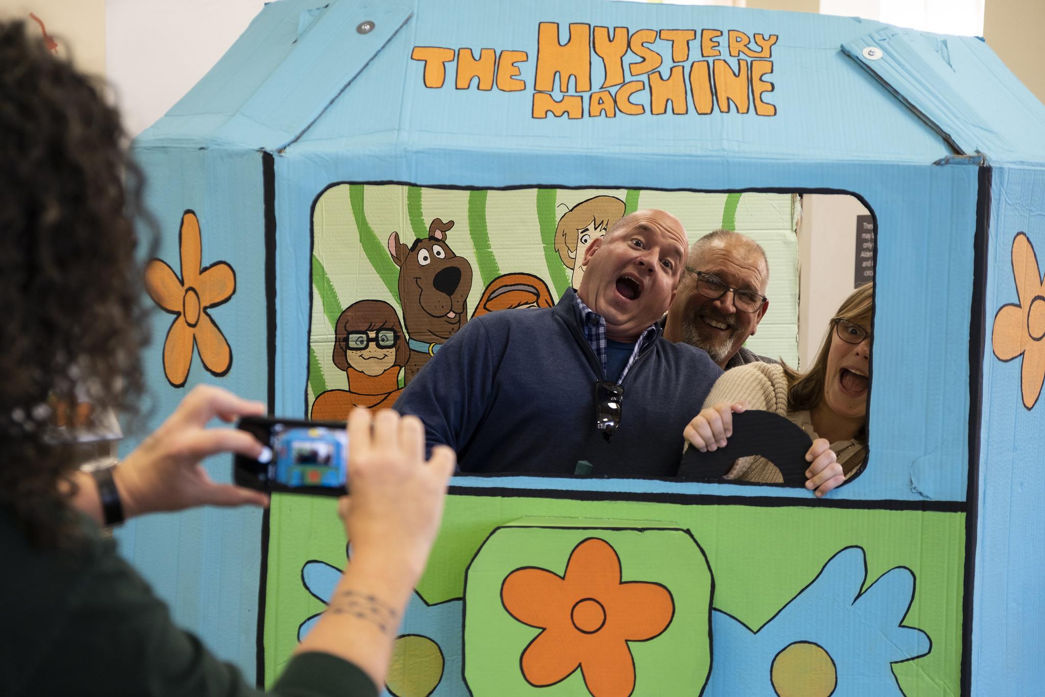 Golf, Scooby Doo Mystery Machine, Alden Library