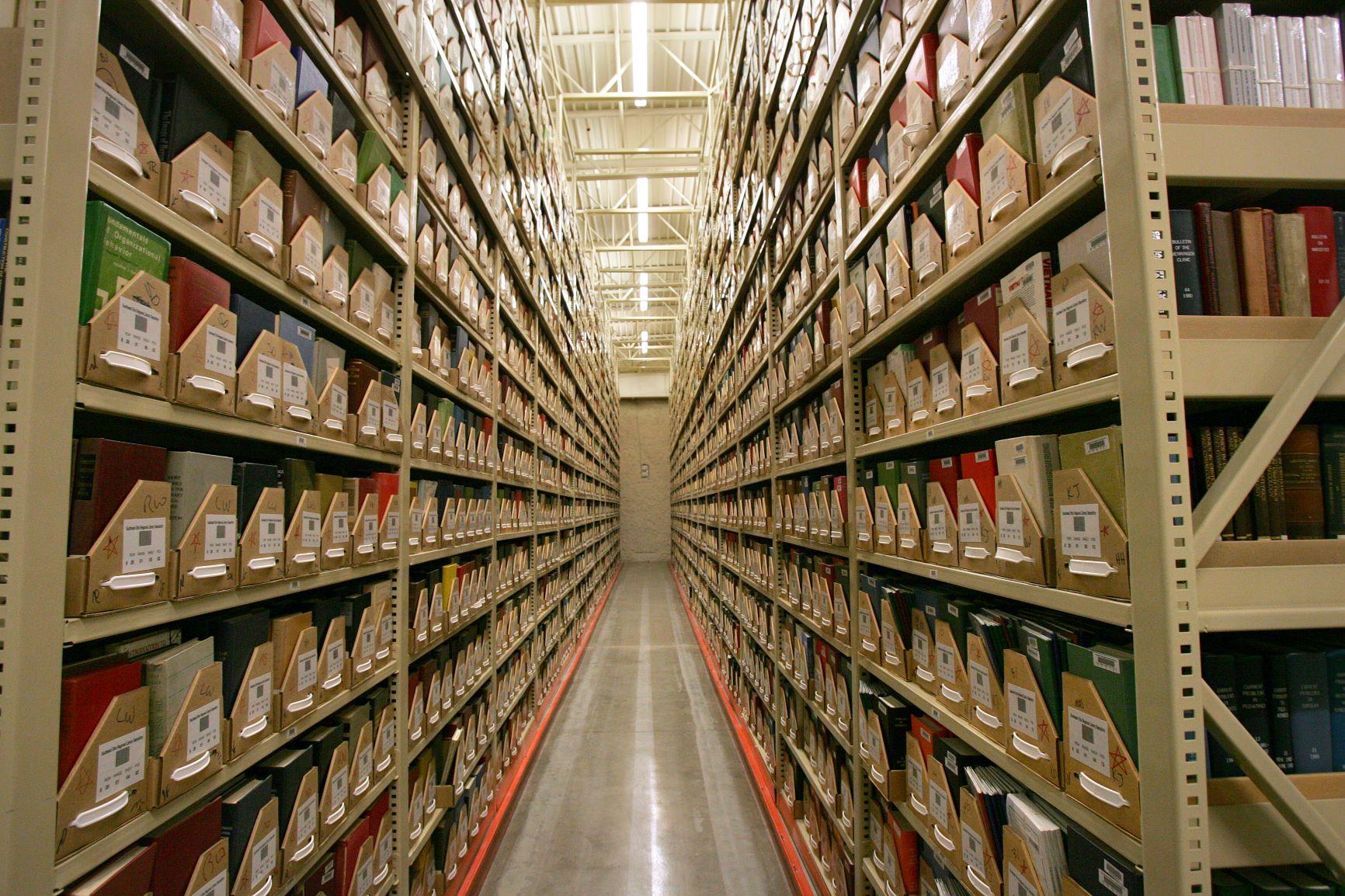 High Density Storage, Library Annex