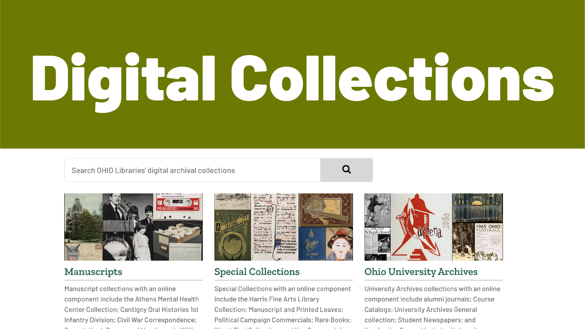 Digital Collections Video