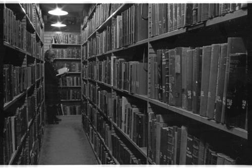 Chubb Library, Stacks