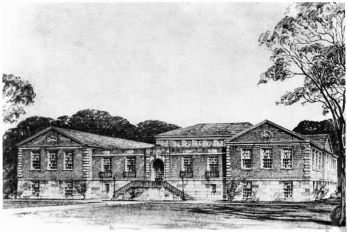 Chubb Library, Sketch