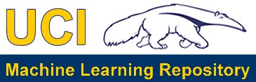 UCI machine learning repository logo