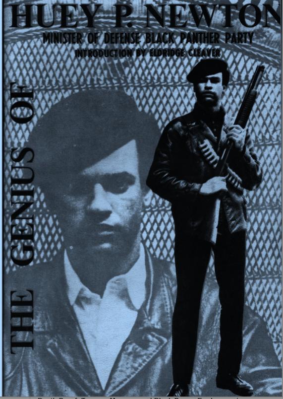 Cover image of Genius of Huey P. Newton