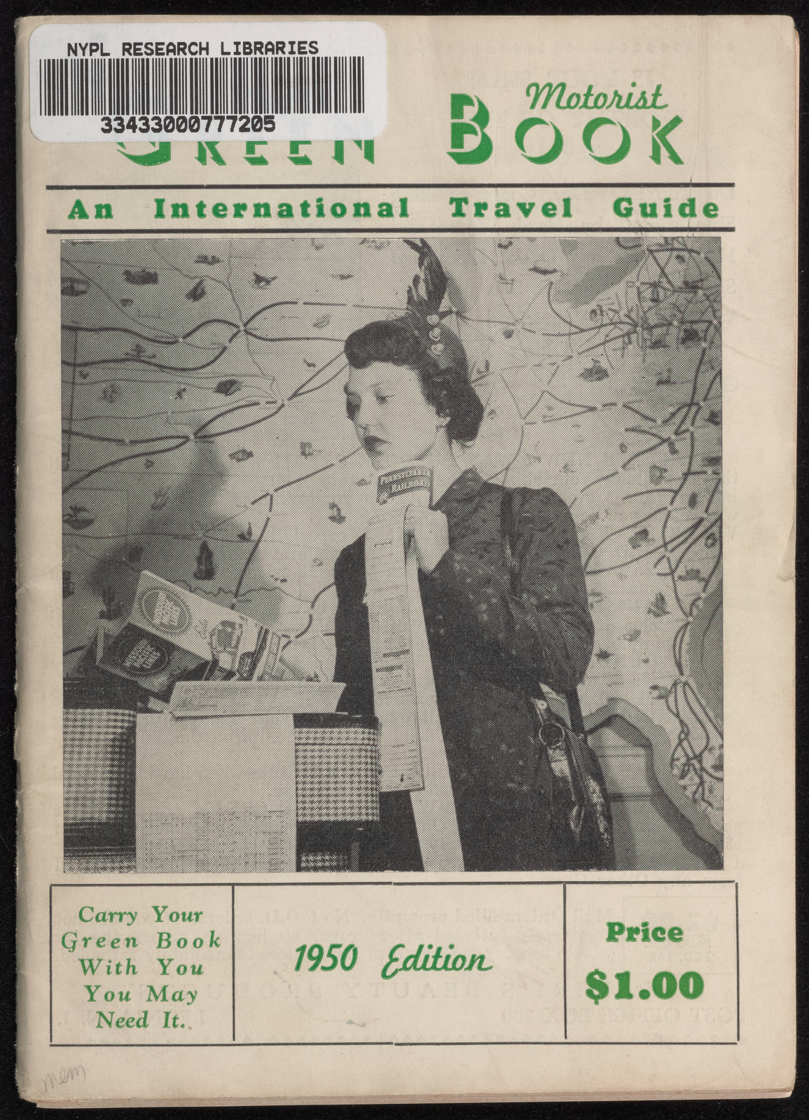 Green Book 1950 Edition Cover
