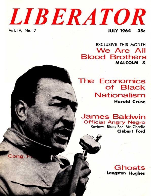 Liberator Magazine cover page image