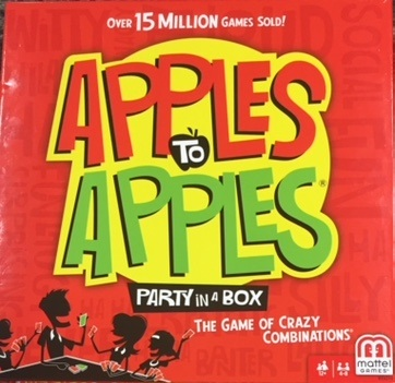 apples to apples party in a box the game of crazy combinations
