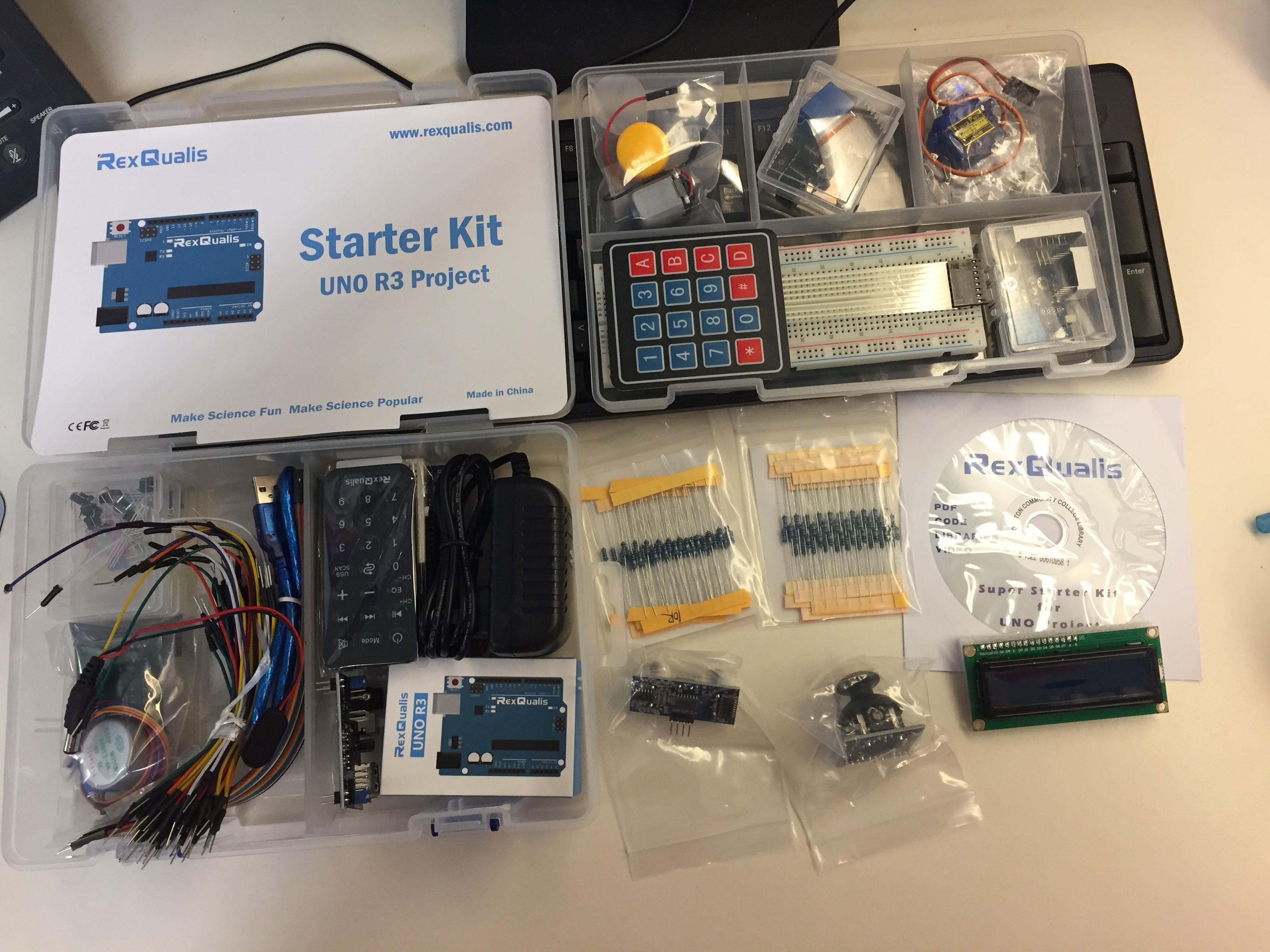 arduino uno r3 project starter kit