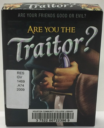 are you the traitor game