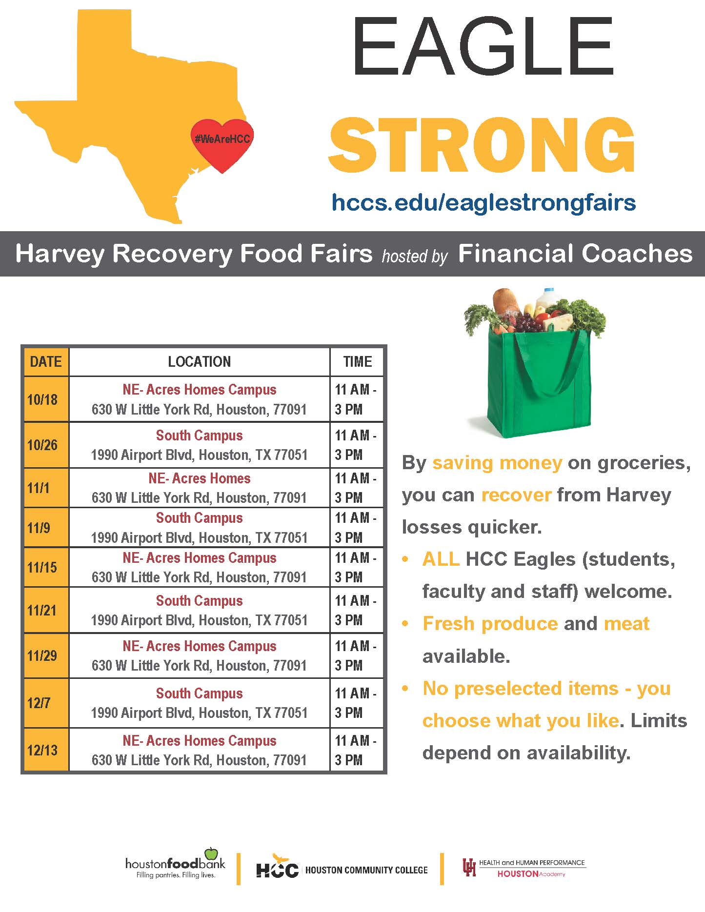 Eagle Food Resource Fair