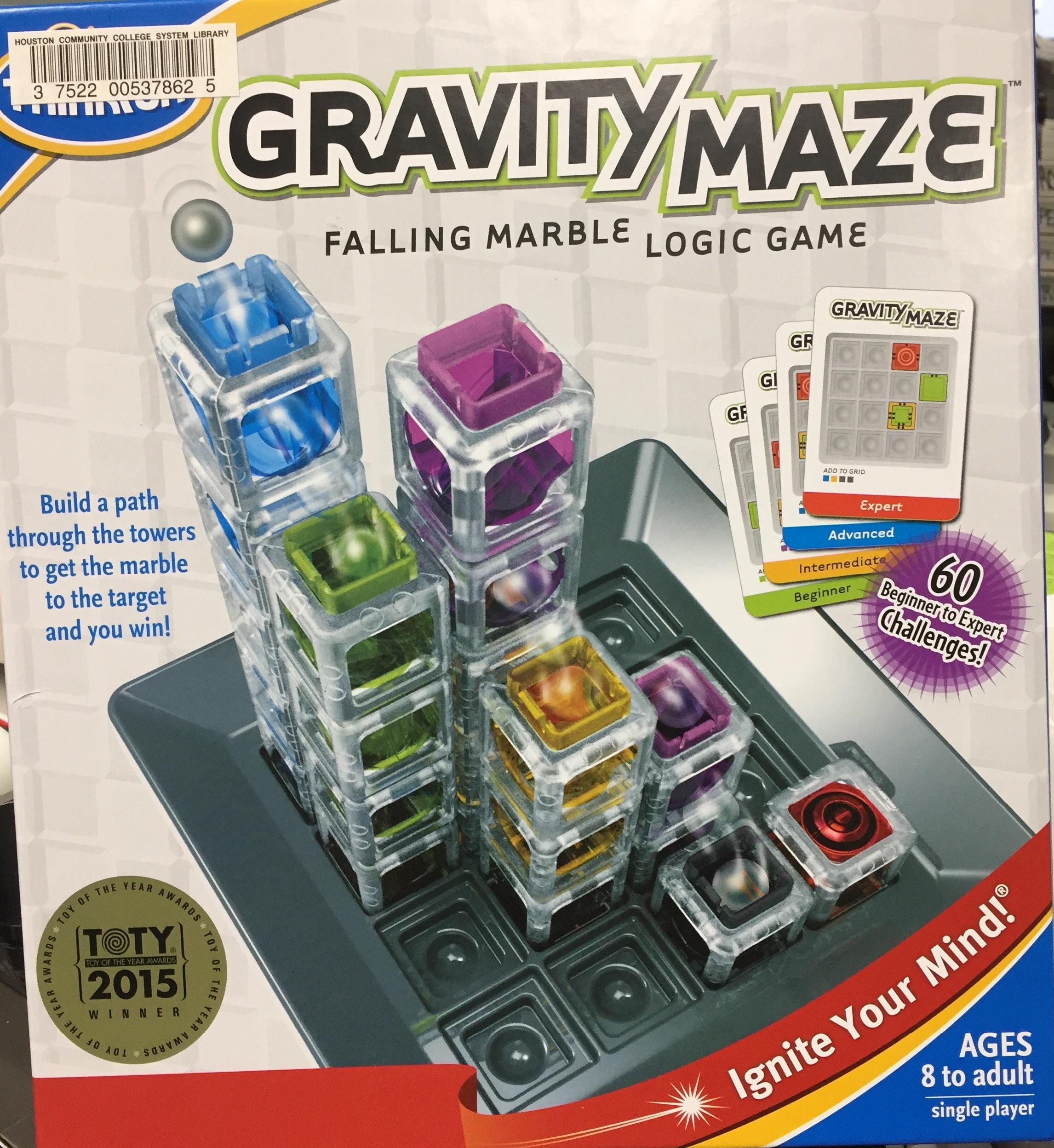 gravity maze falling marbles logic game