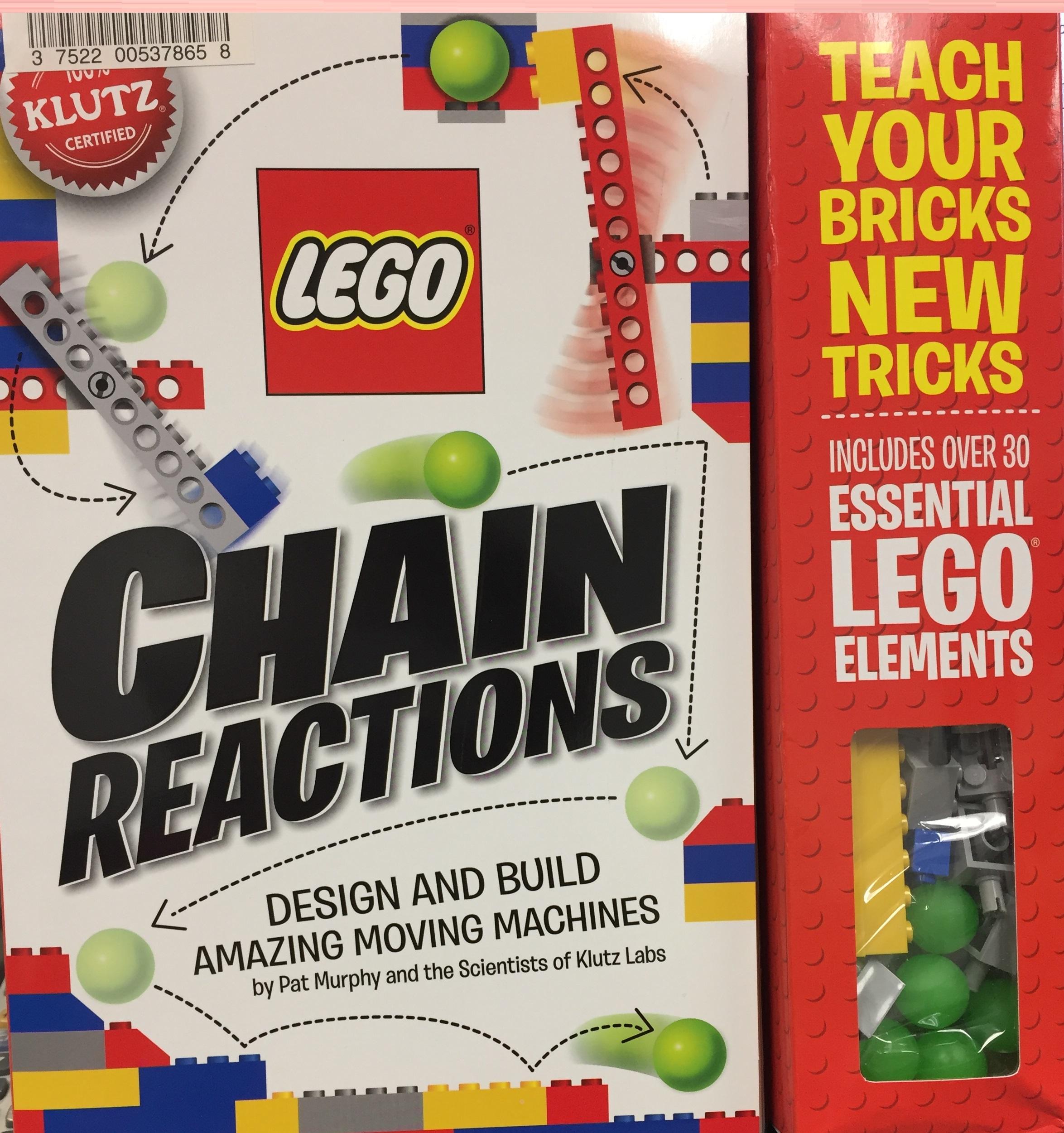 lego chain reactions building set
