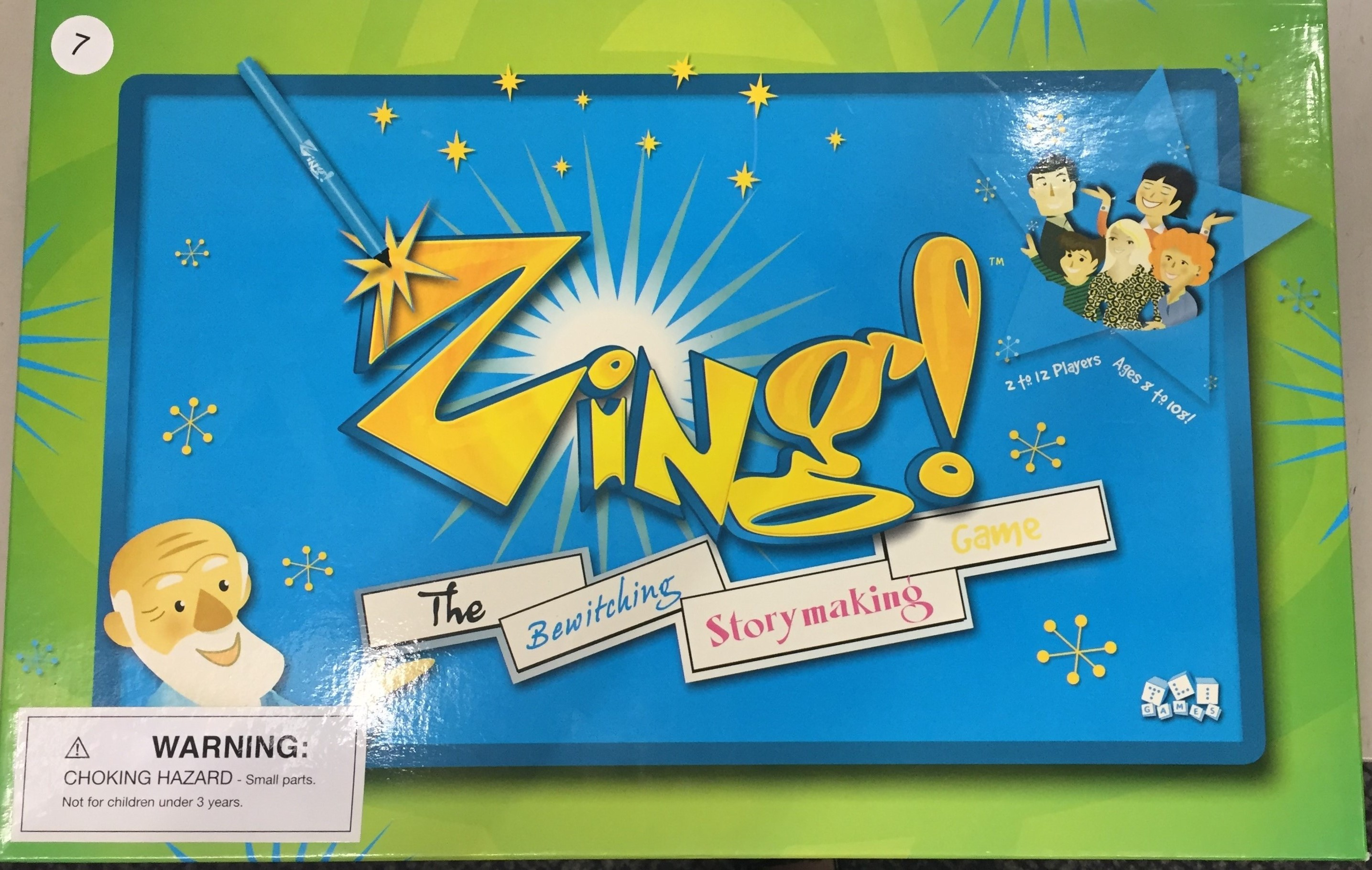 zing the bewtiching storymaking game